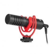 BOYA BY-MM1+ супер-кардиоидный конденсаторный микрофон для смартфонов, планшетов, DSLR и видеокамер,