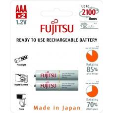 Fujitsu Аккумулятор Ready to use ААА 750 mАh блистер 2 шт