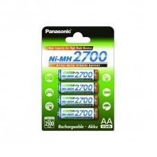 Panasonic Аккумулятор AA 2700 mAh блистер 4шт