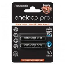 Panasonic Eneloop Pro Аккумулятор AA 2450 mAh блистер 2шт