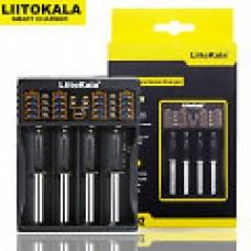 Liitokala Lii-402 на 4 акк. 220-12V USB, powerbank,LiIon , LiFe, NiMh