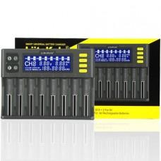 "Liitokala Lii-S8 ""Зарядный ток 2А, LiIon, LiFe, NiMh, 26650-10440"