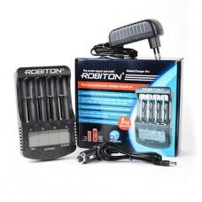 Robiton Master Charger Pro Зарядное устройство LCD