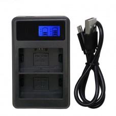 FB зарядное устройство LP-E6 Twin