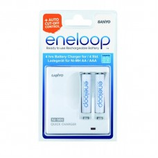 Sanyo Зарядное устройство MDR02-E-2-3UTGB + 2*ENELOOP АА 1900 mAh