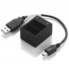 Zebra Зарядное устройство USB на 2 аккумулятора Gopro Hero 3