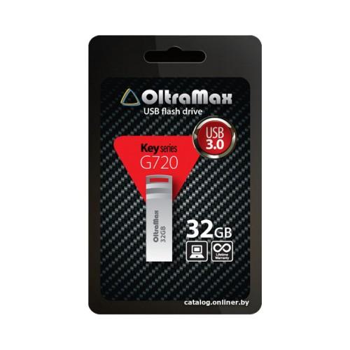OltraMax 32GB Key металл/брелок USB3.0