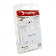 Transcend Картридер Cardreader TS-RDP7W All-in-1 White