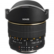 Bower 8mm f/3.5 Fisheye для Nikon