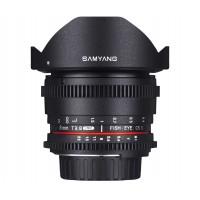 Samyang 8mm T/3.8 Fisheye VDSLR для Nikon