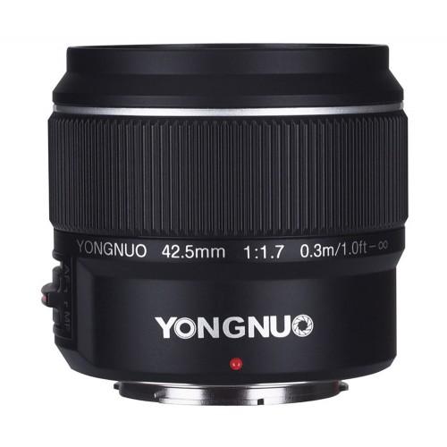 Yongnuo 42.5mm f/1.7 для m4/3