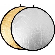 Raylab Отражатель 2в1 60см серебро/золото