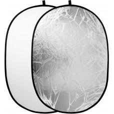 Raylab Отражатель 2в1 120*180см серебро/белый