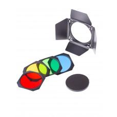 Шторки с цветными фильтрами Raylab RL-FA011 180mm