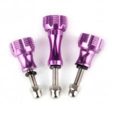 Fujimi Набор винтов алюминиевых 3шт GP SRW-A01 purple