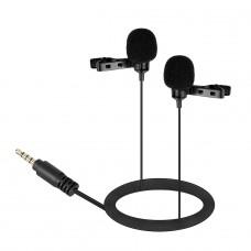Boya Микрофон BY-LM400 петличный двойной