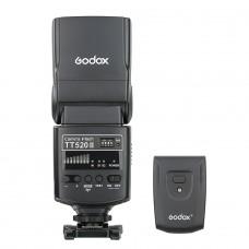 Godox TT-520 II + радиосинхронизатор